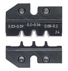 Матрицы опрессовочные и направляющие, для системных опрессовочных инструментов, KN-974924, 15229 руб., KN-974924, KNIPEX, Обжимники
