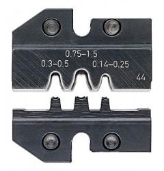 Матрицы опрессовочные и направляющие, для системных опрессовочных инструментов, KN-974944, 15480 руб., KN-974944, KNIPEX, Обжимники