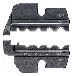 Матрицы опрессовочные и направляющие, для системных опрессовочных инструментов, KN-974961, 15832 руб., KN-974961, KNIPEX, Обжимники