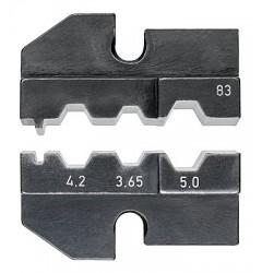 Матрицы опрессовочные и направляющие, для системных опрессовочных инструментов, KN-974983, 20181 руб., KN-974983, KNIPEX, Обжимники