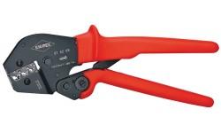 Инструмент для опрессовки рычажный 97 52 09, KN-975209, 15389 руб., KN-975209, KNIPEX, Обжимники