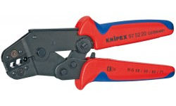 Инструмент для опрессовки рычажный 97 52 20, KN-975220, 20204 руб., KN-975220, KNIPEX, Обжимники