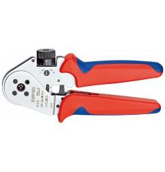 Инструмент для тетрагональной опрессовки контактов 97 52 63, KN-975263, 62941 руб., KN-975263, KNIPEX, Обжимники