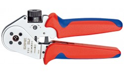 Инструмент для тетрагональной опрессовки контактов 97 52 63, KN-975263, 73023 руб., KN-975263, KNIPEX, Обжимники