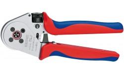 Инструмент для тетрагональной опрессовки контактов 97 52 65, KN-975265, 85014 руб., KN-975265, KNIPEX, Обжимники