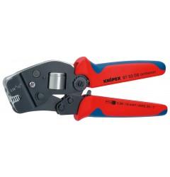 Инструмент для опрессовки контактных гильз самонастраивающийся 97 53 08, KN-975308, 16730 руб., KN-975308, KNIPEX, Обжимники
