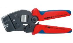 Инструмент для опрессовки контактных гильз самонастраивающийся 97 53 08, KN-975308, 19408 руб., KN-975308, KNIPEX, Обжимники