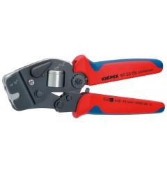Инструмент для опрессовки контактных гильз самонастраивающийся 97 53 09, KN-975309, 17773 руб., KN-975309, KNIPEX, Обжимники