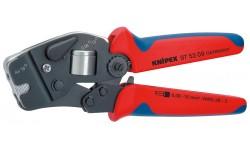 Инструмент для опрессовки контактных гильз самонастраивающийся 97 53 09, KN-975309, 20621 руб., KN-975309, KNIPEX, Обжимники