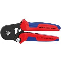 Инструмент для опрессовки контактных гильз самонастраивающийся 97 53 14, KN-975314, 17358 руб., KN-975314, KNIPEX, Обжимники