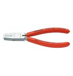 Инструмент для опрессовки контактных гильз 97 61 145F, KN-9761145F, 2987 руб., KN-9761145F, KNIPEX, Обжимники