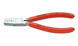 Инструмент для опрессовки контактных гильз 97 61 145F, KN-9761145F, 3485 руб., KN-9761145F, KNIPEX, Обжимники
