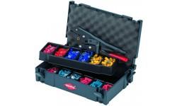 Набор кабельных наконечников с инструментом для опрессовки 97 90 00, KN-979000, 0 руб., KN-979000, KNIPEX, Наборы инструментов и комплектующих