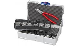 Набор контактных гильз с инструментом для опрессовки 97 90 05, KN-979005, 15183 руб., KN-979005, KNIPEX, Наборы инструментов и комплектующих