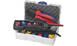 Набор кабельных наконечников с инструментом для опрессовки 97 90 22, KN-979022, 43785 руб., KN-979022, KNIPEX, Наборы инструментов и комплектующих