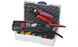 Набор контактных гильз с инструментом для опрессовки 97 90 24, KN-979024, 48203 руб., KN-979024, KNIPEX, Наборы инструментов и комплектующих