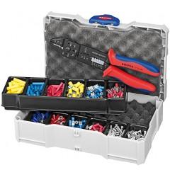 Набор кабельных наконечников для опрессовки KNIPEX 97 90 25, KN-979025, 12398 руб., KN-979025, , Наборы инструментов и комплектующих