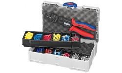 Набор кабельных наконечников для опрессовки KNIPEX 97 90 25, KN-979025, 15301 руб., KN-979025, KNIPEX, Наборы инструментов и комплектующих