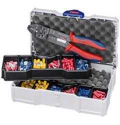Набор кабельных наконечников для опрессовки KNIPEX 97 90 26, KN-979026, 13576 руб., KN-979026, , Наборы инструментов и комплектующих