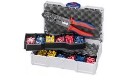 Набор кабельных наконечников для опрессовки KNIPEX 97 90 26, KN-979026, 16758 руб., KN-979026, KNIPEX, Наборы инструментов и комплектующих