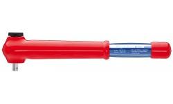 Ключ гаечный динамометрический, с наружным четырехгранником 98 33 50, KN-983350, 43020 руб., KN-983350, KNIPEX, Электробезопасный инструмент 1000в