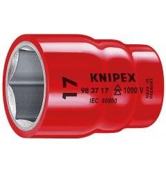 Головка торцевая, для крепежа с 6-гр. профилем 98 37 14, KN-983714, 1636 руб., KN-983714, KNIPEX, Торцевые головки изолированные