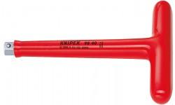 Ручка Т-образная 98 40, KN-9840, 6563 руб., KN-9840, KNIPEX, Электробезопасный инструмент 1000в