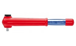 Ключ гаечный динамометрический, с наружным четырехгранником 98 43 50, KN-984350, 43020 руб., KN-984350, KNIPEX, Электробезопасный инструмент 1000в