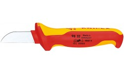 Резак для каблей 98 52, KN-9852, 1862 руб., KN-9852, KNIPEX, Ножи для удаления изоляции