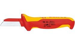 Резак для каблей 98 54, KN-9854, 1871 руб., KN-9854, KNIPEX, Ножи для удаления изоляции