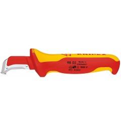 Нож для удаления оболочек кабелей 98 55, KN-9855, 3931 руб., KN-9855, KNIPEX, АКЦИЯ