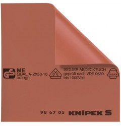 Коврик изолирующий 98 67 10, KN-986710, 18258 руб., KN-986710, KNIPEX,  Электробезопасный инструмент 1000в