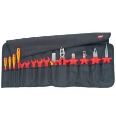 Планшет для инструмента мягкий, 15 предм., с инструментами электроизолированными 98 99 13, KN-989913, 37604 руб., KN-989913, KNIPEX, Наборы инструментов и комплектующих