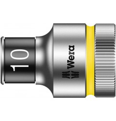 "8790 HMC HF Торцевая головка 10 мм для ключа-трещотки Zyklop c 1/2"" с функцией фиксации WERA 003730, WE-003730, 514 руб., WE-003730, , Новинки WERA"