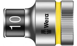 "8790 HMC HF Торцевая головка 10 мм для ключа-трещотки Zyklop c 1/2"" с функцией фиксации WERA 003730, WE-003730, 694 руб., WE-003730, WERA, Новинки WERA"
