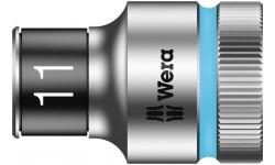 "8790 HMC HF Торцевая головка 11 мм для ключа-трещотки Zyklop c 1/2"" с функцией фиксации WERA 003731, WE-003731, 694 руб., WE-003731, WERA, Новинки WERA"
