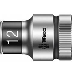 "8790 HMC HF Торцевая головка 12 мм для ключа-трещотки Zyklop c 1/2"" с функцией фиксации WERA 003732, WE-003732, 514 руб., WE-003732, , Новинки WERA"
