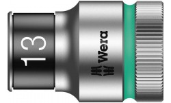 "8790 HMC HF Торцевая головка 13 мм для ключа-трещотки Zyklop c 1/2"" с функцией фиксации WERA 003733, WE-003733, 708 руб., WE-003733, WERA, Новинки WERA"