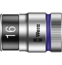 "8790 HMC HF Торцевая головка 16 мм для ключа-трещотки Zyklop c 1/2"" с функцией фиксации WERA 003736, WE-003736, 706 руб., WE-003736, , Новинки WERA"