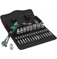 "8100 SA 9 Zyklop Speed - набор с трещоткой, привод 1/4"", дюймовый WERA 004019, WE-004019, 12896 руб., WE-004019, , Новинки WERA"