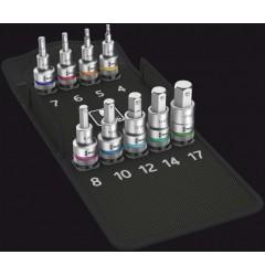 8740 C HF 1 набор отверточных головок Zyklop, для внутреннего шестигранника, с фиксирующей функцией WERA 004201, WE-004201, 9898 руб., WE-004201, , Новинки WERA