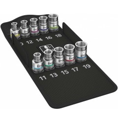 8790 HMC HF 1 набор торцовых головок Zyklop, с фиксирующей функцией WERA 004203, WE-004203, 7791 руб., WE-004203, WERA, Новинки WERA