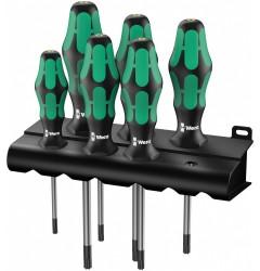 367/6 TORX® HF Kraftform Plus Набор отверток367 TORX® HF 028059, WE-028059, 4711 руб., WE-028059, WERA, Наборы Отвёрток