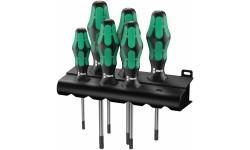 367/6 TORX® HF Kraftform Plus Набор отверток367 TORX® HF 028059, WE-028059, 5843 руб., WE-028059, WERA, Наборы Отвёрток