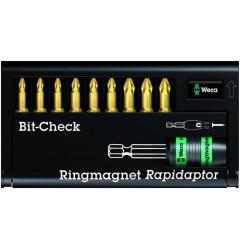 8855-9/Th Bit-Check Держатель Rapidaptor 056379, WE-056379, 4204 руб., WE-056379, WERA,  Наборы бит WERA