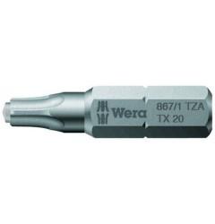 867/1 ZA TORX®  066082, WE-066082, 111 руб., WE-066082, WERA, Биты WERA