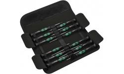 Kraftform Micro-Set/12 SB 1 E Набор отверток для электронщиков, WE-073675, 5863 руб., WE-073675, WERA, Биты WERA