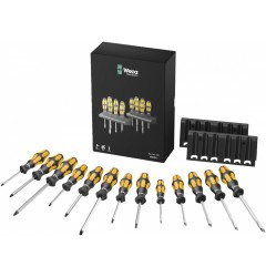 Набор отверток Kraftform WERA Big Pack 900: отвертка-резец + подставка 133285, WE-133285, 8605 руб., WE-133285, , Новинки WERA
