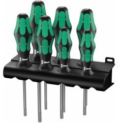 367/7 TORX® HF Kraftform Plus Набор отверток 223161, WE-223161, 5053 руб., WE-223161, WERA, Наборы Отвёрток