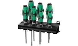 367/7 TORX® HF Kraftform Plus Набор отверток 223161, WE-223161, 6266 руб., WE-223161, WERA, Наборы Отвёрток
